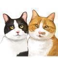 2匹の猫通信+